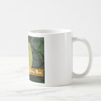 Joyful, Joyful, We Adore Thee - Botanical Flower Coffee Mug