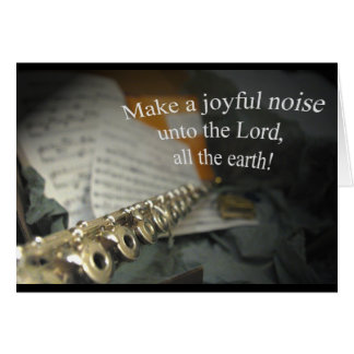 Joyful Noise card