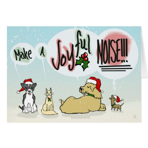 Joyful Noise Greeting Card