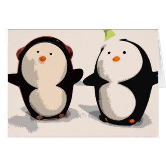 Joyful Penguins Card