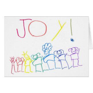 Joyful People Greeting Card