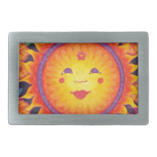 Joyful Sun Full Size Belt Buckle