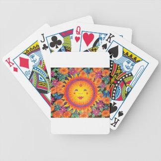 Joyful Sun Full Size Bicycle Playing Cards