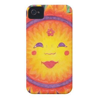 Joyful Sun iPhone 4 Case