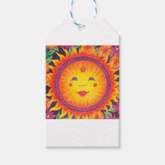 Joyful Sun Pack Of Gift Tags