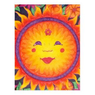 Joyful Sun Postcard