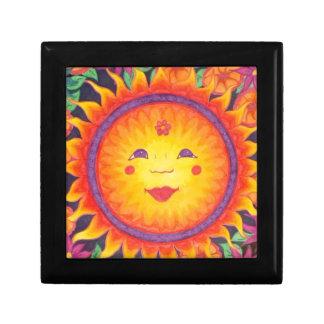 Joyful Sun Trinket Boxes