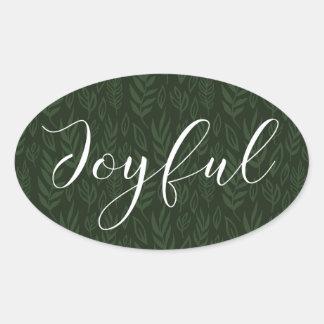 Joyful Tidings Holiday Stickers