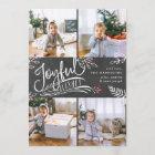Joyful Wish | Christmas Photo Collage Card
