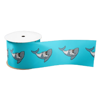 JoyJoy Shark Satin Ribbon