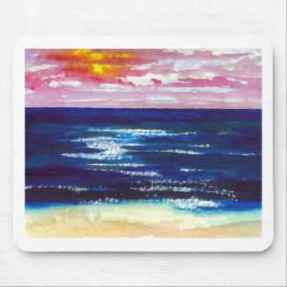 Joyous  2 - Ocean Sunrise Sunset Beach Art Gifts Mouse Pad