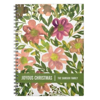 JOYOUS CHRISTMAS notebook
