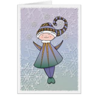 Joyous Elf  Card