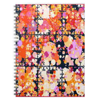 Joyous Explosion Notebook - Coral