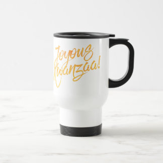 Joyous Kwanzaa 15 Oz Stainless Steel Travel Mug