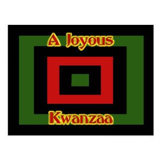 Joyous Kwanzaa Postcard