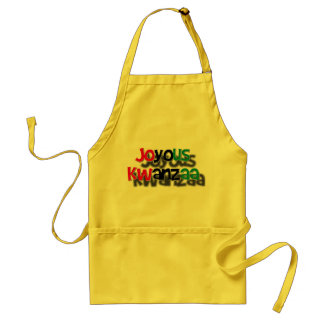 Joyous Kwanzaa Standard Apron