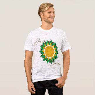 Joyous Sun Wreath Men's Burnout T-shirt