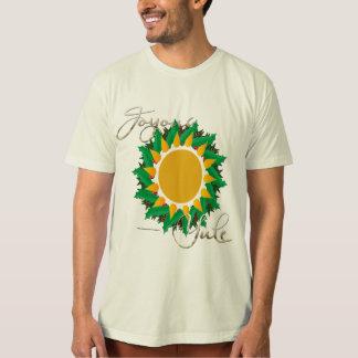 Joyous Sun Wreath Men's Organic T-Shirt