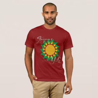 Joyous Sun Wreath Men's T-Shirt