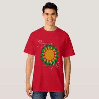 Joyous Sun Wreath Men's Tall T-Shirt