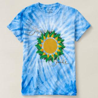 Joyous Sun Wreath Men's Tie-Dye T-Shirt