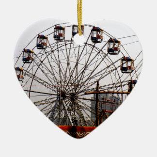 JoyRides Picnic Spot NewDelhi India Festivals Ceramic Heart Ornament
