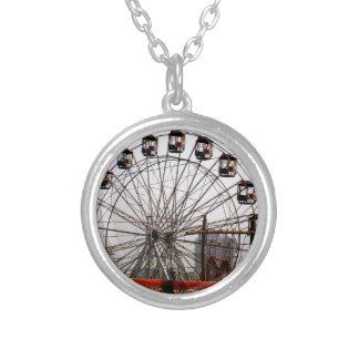JoyRides Picnic Spot NewDelhi India Festivals Silver Plated Necklace