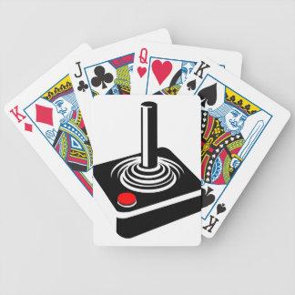 Joystick Bicycle Playing Cards