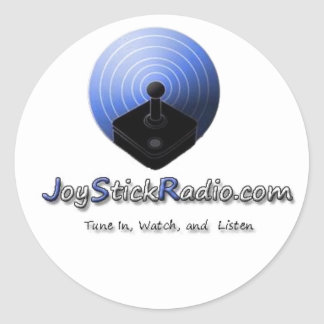 Joystick Radio Stickers