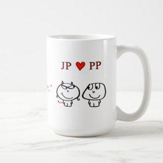 """ JP heart PP UK"" Coffee Mug"