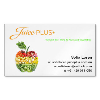 JP+ Magnet Apple Salad Orange Logo (Customize)