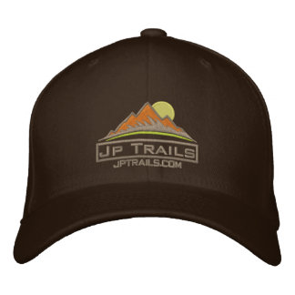Jp Trails Hat Khaki logo
