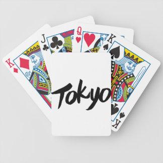 Jpanese Kanji Design/tokyo Bicycle Playing Cards
