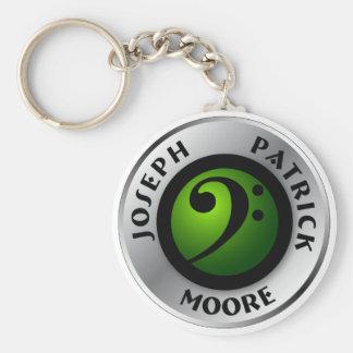 JPM Logo Keychain