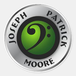 JPM Logoe Sticker