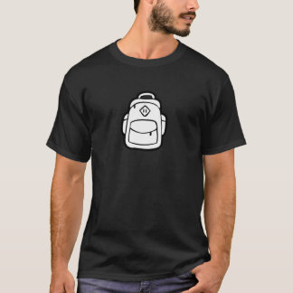JQ Black Just Backpack T-Shirt