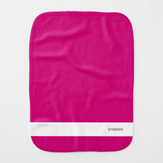 Jr. Designer Feedback Form 0/100/0/0 Burp Cloth