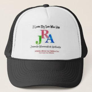 JRA son hat