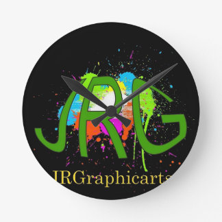 JRGraphicarts Wallclock
