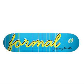 JRobb Formal Skateboards - Customized