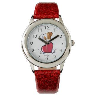 JRT With Heart Wrist Watch