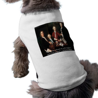 JS Bach Graphic & Funny Coffee Quote Gifts & Cards Dog Tee Shirt