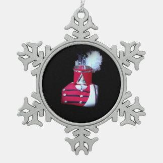 JSU Clairnet Snowflake Pewter Christmas Ornament