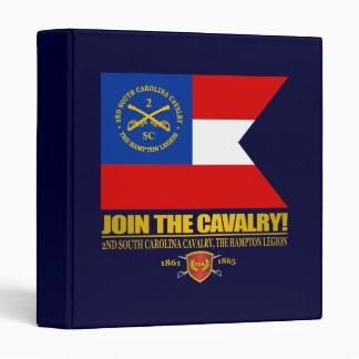 JTC (2nd South Carolina Cavalry) 3 Ring Binder