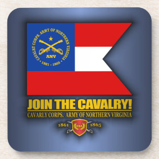 JTC (Cavalry Corps, Army of Northern Virginia) Drink Coaster