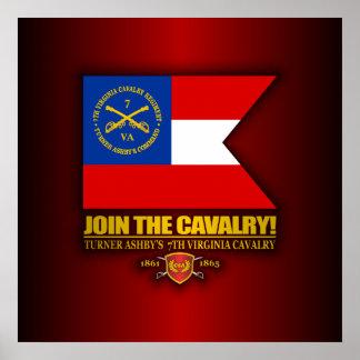 JTC (Turner Ashby's 7th Virginia Cavalry) Print