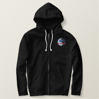 Ju Jitsu Logo Embroidered Hoodies