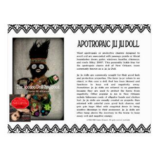 Ju Ju Doll from the Voodoo Doll Spellbook Postcard