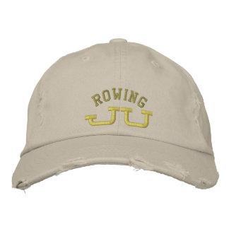 JU Rowing Embroidered Baseball Cap